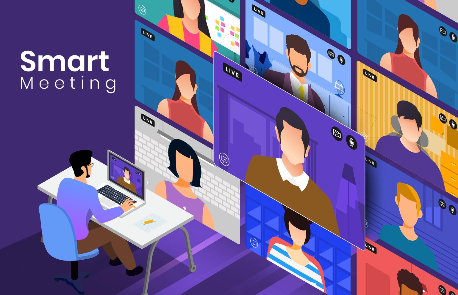 تطبيق Smart Meeting