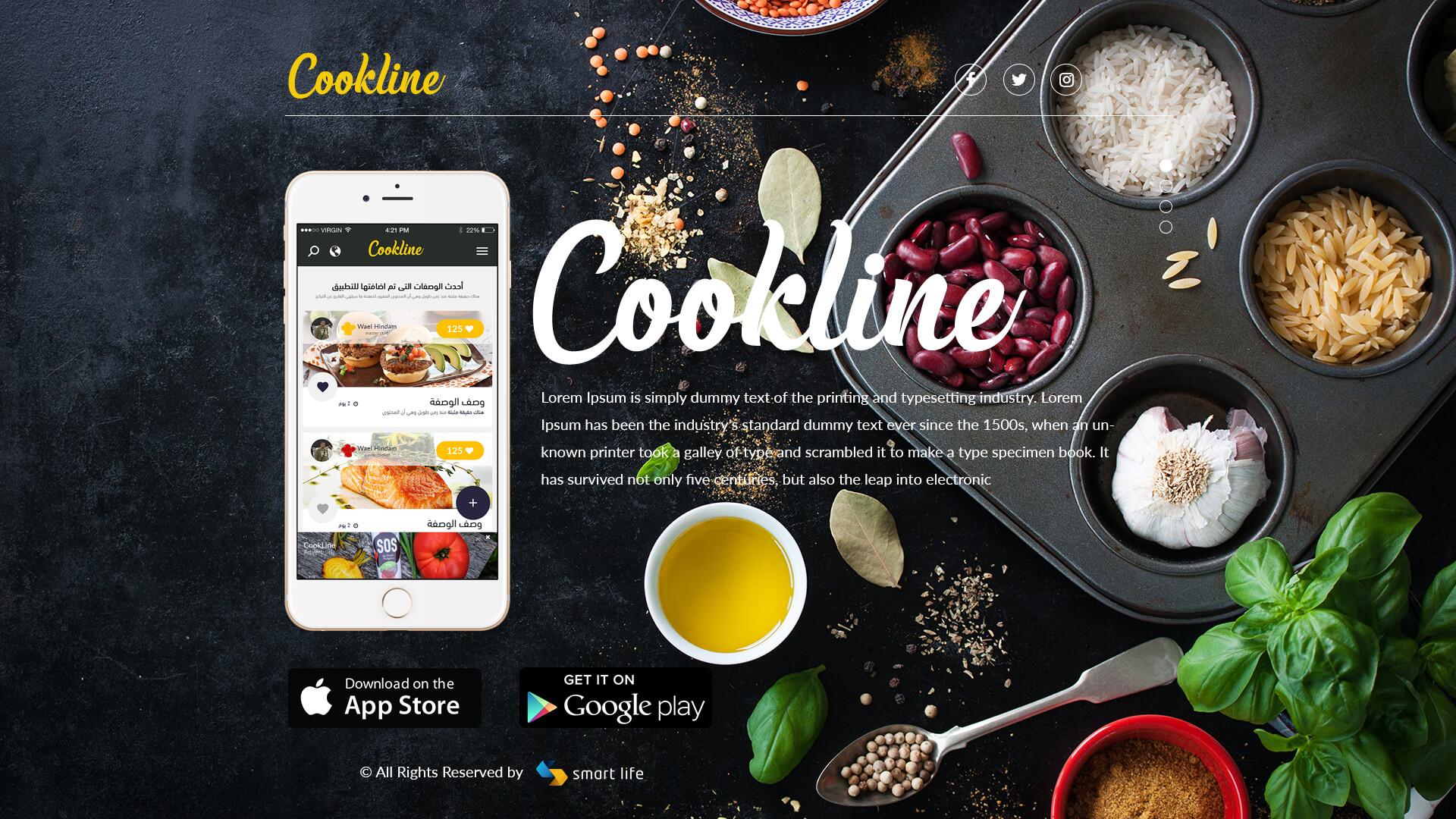 Cook Line app