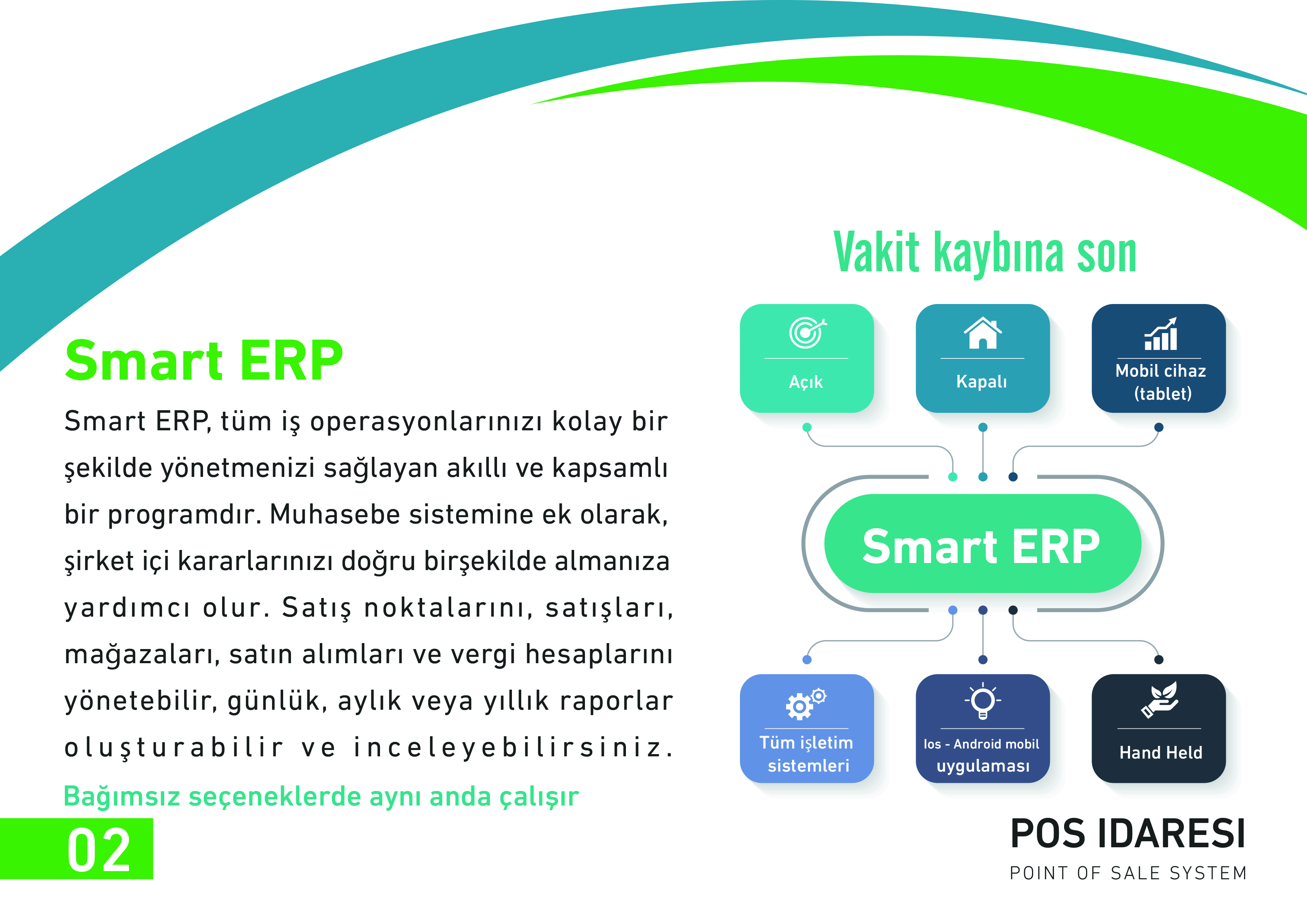 Akıllı ERP sistemi